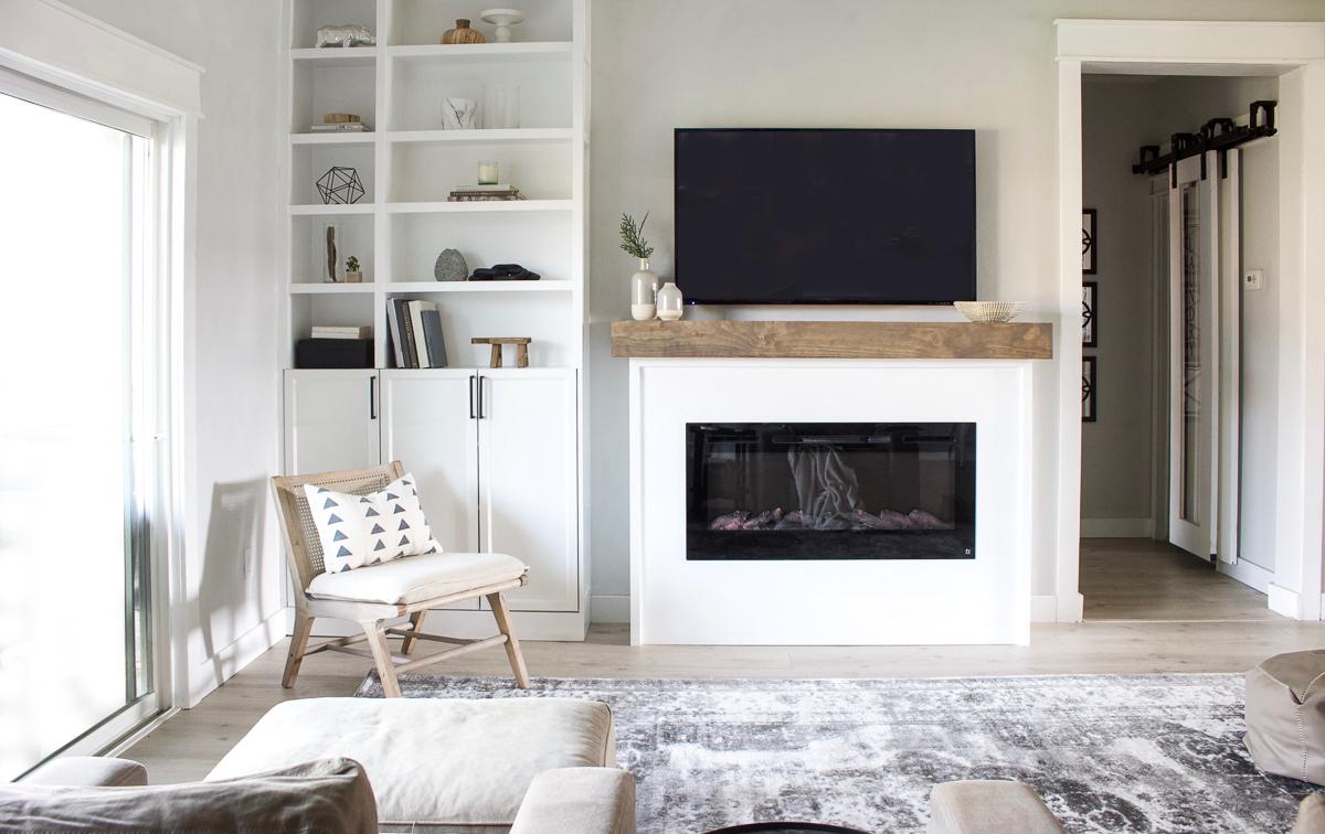 Diy Modern Fireplace Designed Simple